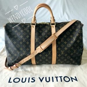 LOUIS VUITTON KEEPALL BANDOULIÈRE Monogram 50